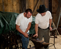 Men & Their Machines / Blacksmith's Round-up