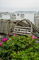 Old Wooden Lobster Traps