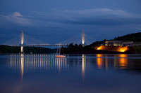 Penobscot Narrows Bridge and Fort Knox